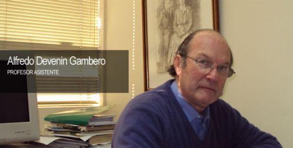 Devenin Gambero, Alfredo